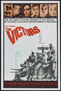 "Movie Posters:War, The Victors (Columbia, 1963). One Sheet (27"" X 41""). War...."