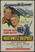 """Movie Posters:Musical, Northwest Outpost (Republic, 1947). One Sheet (27"""" X 41""""). Musical...."""