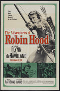 """Movie Posters:Adventure, The Adventures of Robin Hood (United Artists, R-1960s). One Sheet(27"""" X 41""""). Adventure...."""