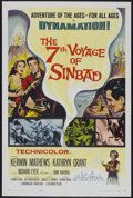 """Movie Posters:Fantasy, The 7th Voyage of Sinbad (Columbia, 1958). One Sheet (27"""" X 41""""). Fantasy...."""
