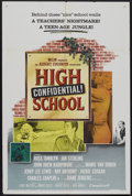 "Movie Posters:Crime, High School Confidential (MGM, 1958). One Sheet (27"" X 41"").Crime...."