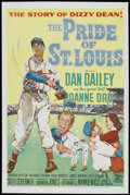 "Movie Posters:Sports, The Pride of St. Louis (20th Century Fox, 1952). One Sheet (27"" X 41""). Sports...."