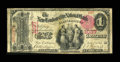 National Bank Notes:Connecticut, New London, CT - $1 1875 Fr. 386 The New London City NB Ch. # 1037. ...