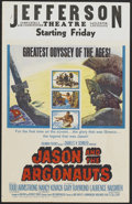 "Movie Posters:Fantasy, Jason and the Argonauts (Columbia, 1963). Window Card (14"" X 22""). Fantasy...."