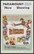 """Movie Posters:Comedy, The Outlaws is Coming (Columbia, 1965). Window Card (14"""" X 22""""). Comedy...."""