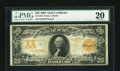 Large Size:Gold Certificates, Fr. 1185 $20 1906 Gold Certificate PMG Very Fine 20....