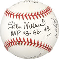 Autographs:Baseballs, St. Louis Cardinals MVP's Multi-Signed Baseball. ...