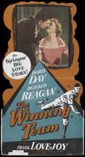 "Movie Posters:Sports, The Winning Team (Warner Brothers, 1952). Standee (32.5"" X 59.5""). Sports...."