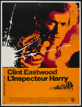 "Movie Posters:Crime, Dirty Harry (Warner Brothers, 1971). French Grande (46.25"" X 61"").Crime...."