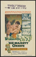 "Movie Posters:Adventure, His Majesty O'Keefe (Warner Brothers, 1954). Window Card (14"" X22""). Adventure...."