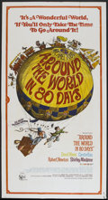 "Movie Posters:Academy Award Winner, Around the World in 80 Days (United Artists, R-1968). Three Sheet(41"" X 76""). Academy Award Winner...."