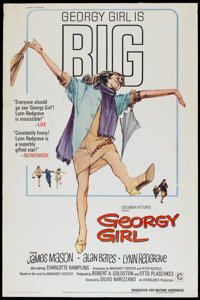 "Georgy Girl (Columbia, 1966). Poster (40"" X 60""). Comedy"