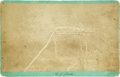 Photography:Cabinet Photos, Boudoir Image of Above-Ground Indian Burial, circa 1880s....