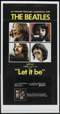 """Movie Posters:Rock and Roll, Let It Be (United Artists, 1970). Three Sheet (41"""" X 81""""). Rock and Roll...."""