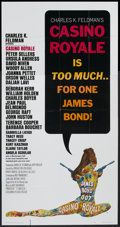 "Movie Posters:James Bond, Casino Royale (Columbia, 1967). Three Sheet (41"" X 81""). James Bond...."