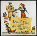 "Movie Posters:Drama, The Quiet Man (Republic, 1951). Six Sheet (81"" X 81""). Drama...."