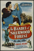 "Movie Posters:Adventure, The Bandit of Sherwood Forest (Columbia, 1945). One Sheet (27"" X41"") Style B. Adventure...."