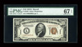 Small Size:World War II Emergency Notes, Fr. 2303 $10 1934A Hawaii Federal Reserve Note. PMG Superb Gem Unc67 EPQ.. ...