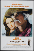 """Movie Posters:Western, Monte Walsh (National General, 1970). One Sheet (27"""" X 41"""").Western...."""