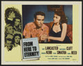 "Movie Posters:Academy Award Winner, From Here to Eternity (Columbia, R-1958). Lobby Cards (9) (11"" X14""). Academy Award Winner.... (Total: 9 Items)"