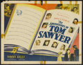 "Movie Posters:Adventure, The Adventures of Tom Sawyer (United Artists, 1938). Half Sheet(22"" X 28""). Adventure...."