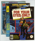 Magazines:Superhero, Marvel Preview/Bizarre Adventures Group (Marvel, 1976-82)....(Total: 6 Comic Books)