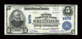 National Bank Notes:Missouri, Cassville, MO - $5 1902 Plain Back Fr. 600 The First NB Ch. # 8979....