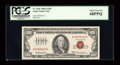 Small Size:Legal Tender Notes, Fr. 1551 $100 1966A Legal Tender Note. PCGS Superb Gem New 68PPQ.. ...