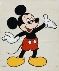 Mickey Mouse and Minnie Window Decal (Disney, 1976).... (Total: 2 Items)