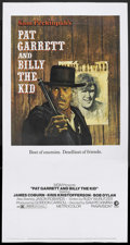 "Movie Posters:Western, Pat Garrett & Billy the Kid (MGM, 1973). Three Sheet (41"" X 81""). Western. Starring James Coburn, Kris Kristofferson, Bob Dy..."