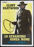 "Movie Posters:Western, High Plains Drifter (Universal, 1974). Italian 4 - Folio (55"" X 78""). Western. Starring Clint Eastwood, Marianna Hill, Verna..."