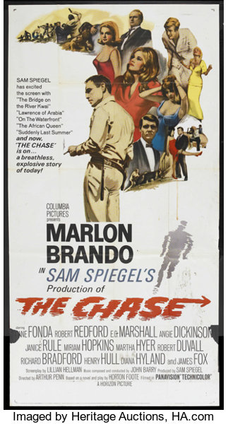 The Chase (Columbia, 1966)  Three Sheet (41