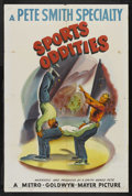 "Movie Posters:Short Subject, A Pete Smith Specialty (MGM, 1953). One Sheet (27"" X 41""). ""SportsOddities."" Short Subject. Narrated and produced by Pete ..."
