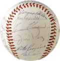 Autographs:Baseballs, 1965 Minnesota Twins Team Signed Baseball. Finishing with over 100wins for the only time in franchise history (including W...