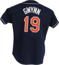 Baseball Collectibles:Uniforms, 1998 Tony Gwynn Game Worn Jersey & Jacket. One of the most underrated stars of the modern era, Gwynn's guaranteed future Ha...