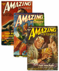 Pulps:Science Fiction, Amazing Stories Group (Ziff-Davis, 1949-51) Condition: AverageVG.... (Total: 12 Comic Books)