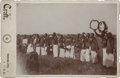 Photography:Cabinet Photos, Outstanding Cabinet Card of Ponca Sun Dance, 1894....