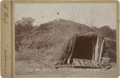 "Photography:Cabinet Photos, T. Croft Cabinet of ""Sitting Bull's Mud Lodge,"" circa 1890...."