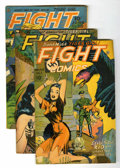 Golden Age (1938-1955):Adventure, Fight Comics #36-40 and 56 Group (Fiction House, 1945-48) Condition: VG/FN.... (Total: 6 Comic Books)