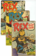 Silver Age (1956-1969):Adventure, Adventures of Rex the Wonder Dog Group (DC, 1954-59).... (Total: 8 Comic Books)
