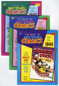 Best of Walt Disney Comics Group (Western, 1974) Condition: Average VF/NM.... (Total: 10 Comic Books)