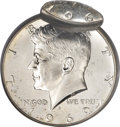 Errors, 1969-D 50C 40% Silver Kennedy Half--Double Struck--MS63 NGC....
