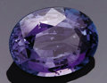 Gems:Faceted, NATURAL PURPLE SPINEL: 6.75 CT.. ...