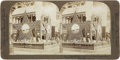 Photography:Stereo Cards, Stereoview of the Texas Agriculture Exhibit at 1904 World's Fair....