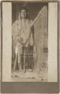 American Indian Art:Photographs, A PORTRAIT OF A NEZ PERCE MAN. c. 1893...