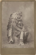 American Indian Art:Photographs, A PORTRAIT OF RED JACKET. c. 1885 ...