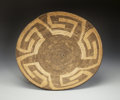 American Indian Art:Baskets, A PIMA COILED TRAY. c. 1920...