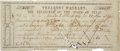 "Autographs:Statesmen, Sam Houston: 1860 State of Texas Treasury Warrant Document Signed""Sam'l Houston"" on the verso...."