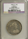 Early Half Dollars: , 1806/5 50C --Improperly Cleaned--NCS. Fine Details. O-101. NGCCensus: (3/124). PCGS Population (10/124). Numismedia Wsl. ...