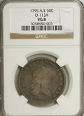 Early Half Dollars: , 1795 50C 2 Leaves VG8 NGC. O-113A. NGC Census: (60/670). PCGSPopulation (124/937). Mintage: 299,680. Numismedia Wsl. Pric...